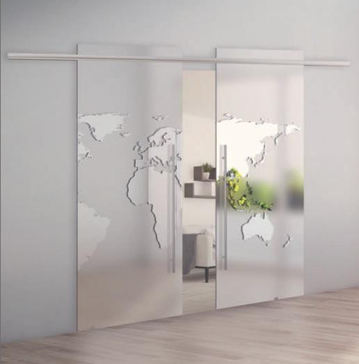 Porte in vetro VISIONI