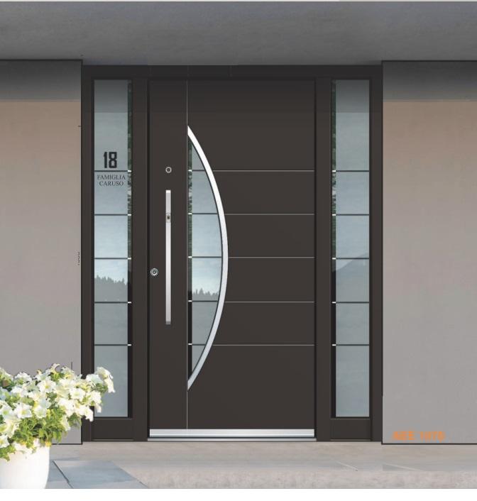 Porte in alluminio INOTHERM